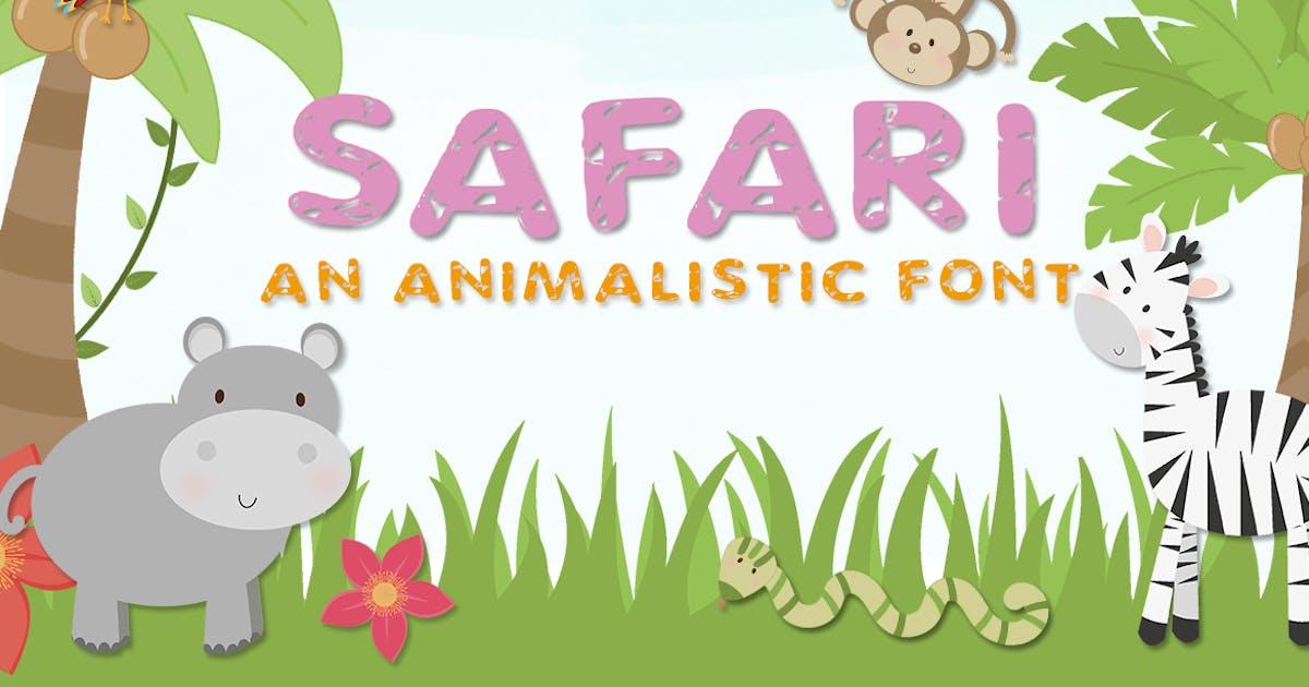 Download Safari Font by maroonbaboon