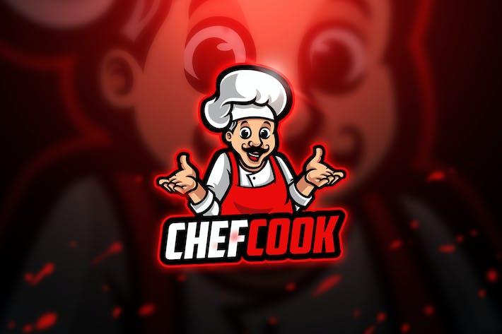 Thumbnail for Chefcook 3 - Mascot & Esport Logo