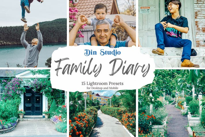Thumbnail for Family Diary Lightroom Presets