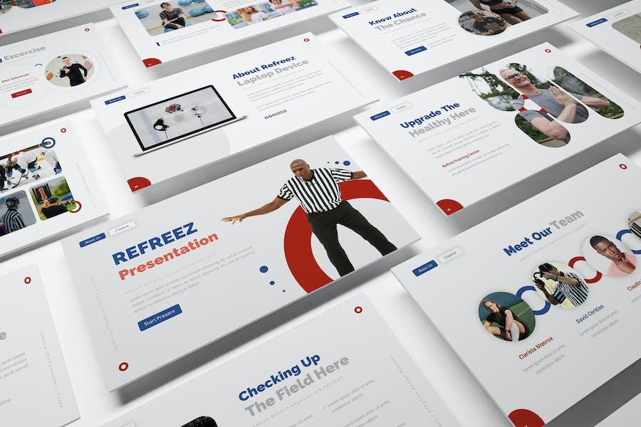 Refreez Google Slides Presentation Template