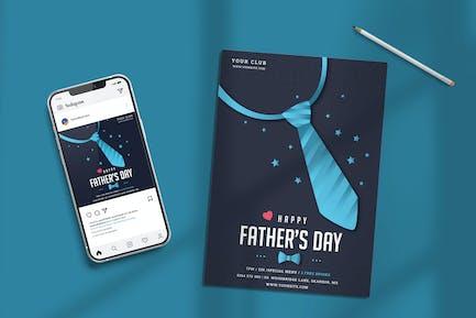 Modèle de fête des Pères