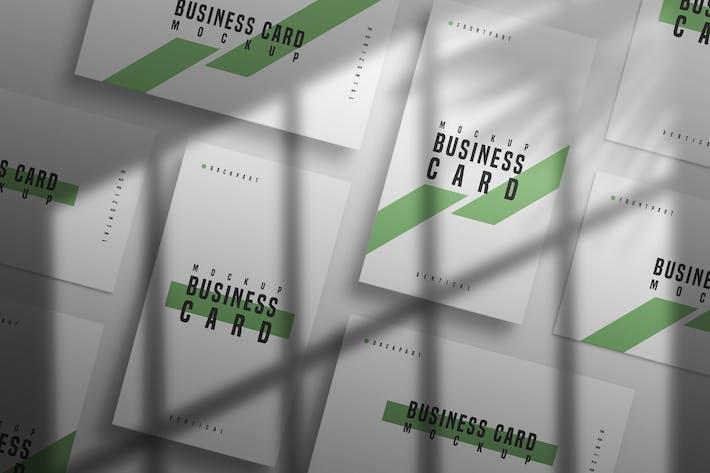 Minimal Business Card Mockup Vol 02