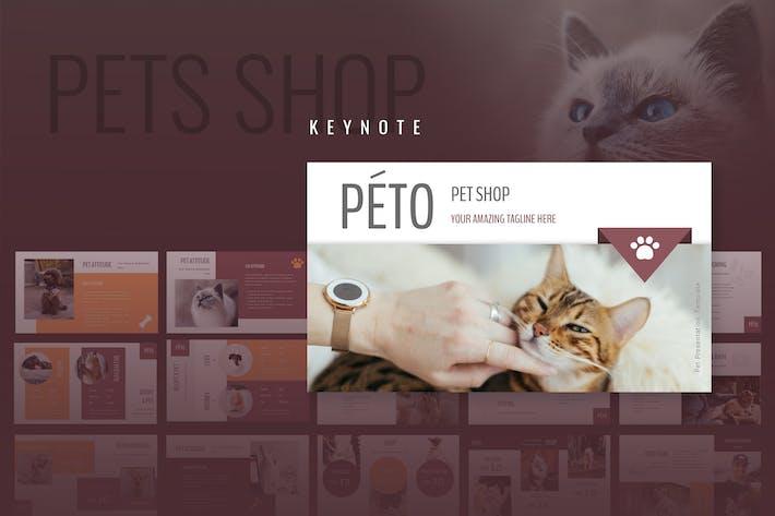 Peto - Pet Shop Keynote Presentation