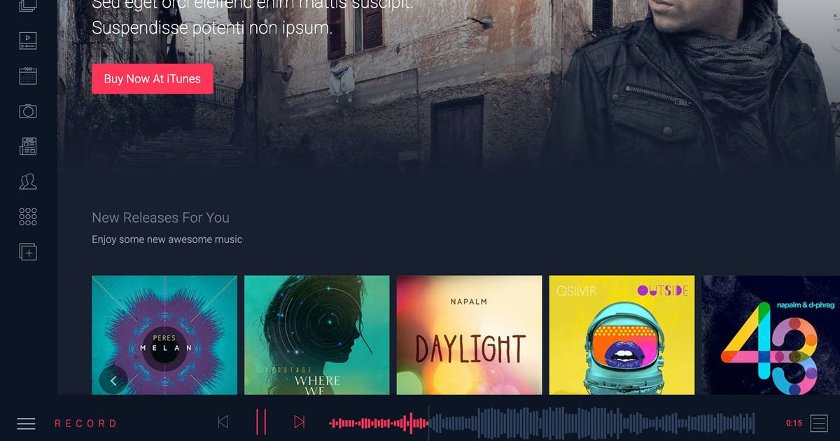 Download Rekord Ajaxify Music Event & Multipurpose HTML by xvelopers