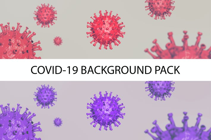 Thumbnail for Coronavirus  ( Covid-19 ) Wide Background Pack