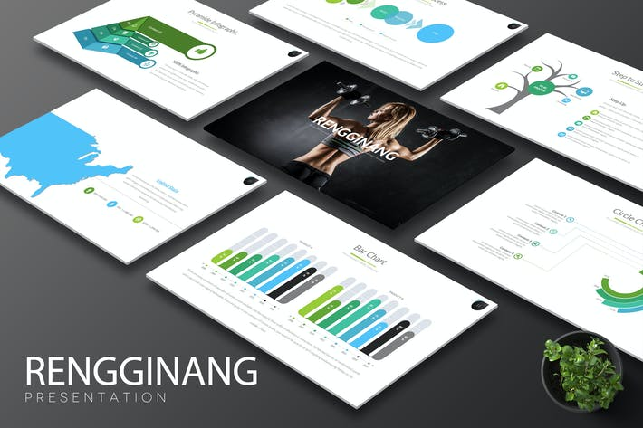 Thumbnail for Rengginang - Keynote Template