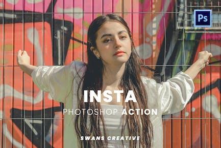 Insta Photoshop Action
