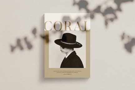 Coral - Magazine Template