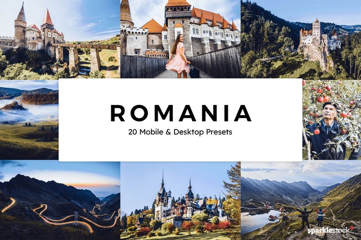 20 Romania Lightroom Presets & LUTs
