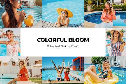 20 красочных пресетов и LUT Bloom Lightroom