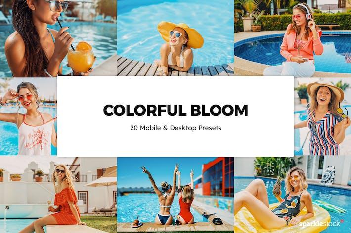 20 Colorful Bloom Lightroom Presets & LUTs