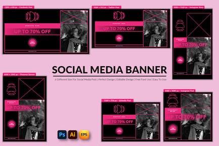 Shopping Week Social Media Banner