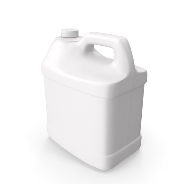 Plastic F Style Bottle 2 Gallon With Smooth Plastic Cap