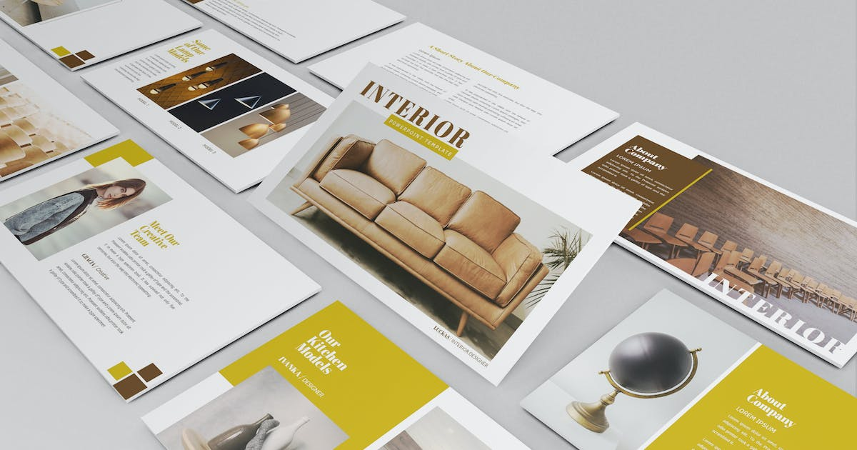 Download Interior Powerpoint by Luckascode