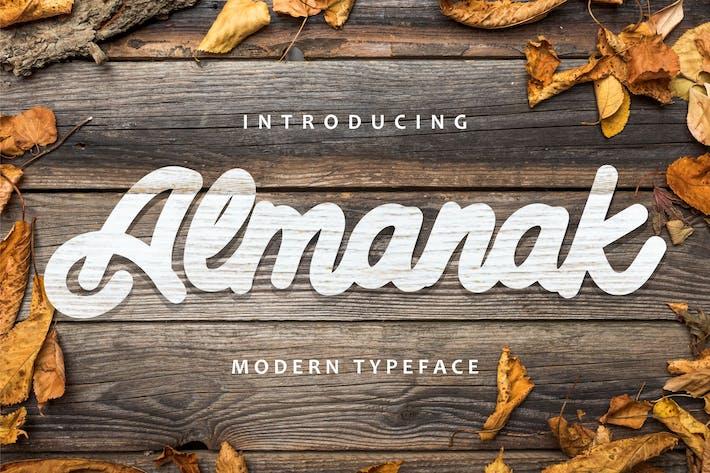 Thumbnail for Almanak - Polices de caractères modernes