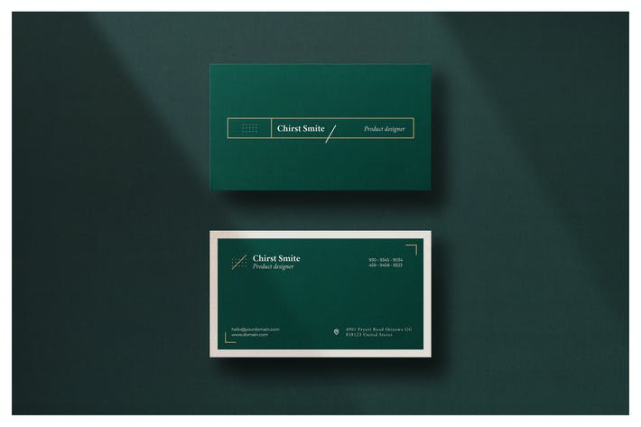 Thumbnail for Minimal Business Card - Vol.8
