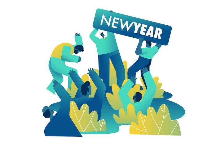 Cover Image For New Year party countdown