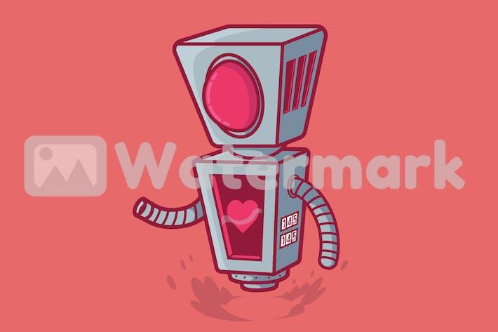 Робот Любовь