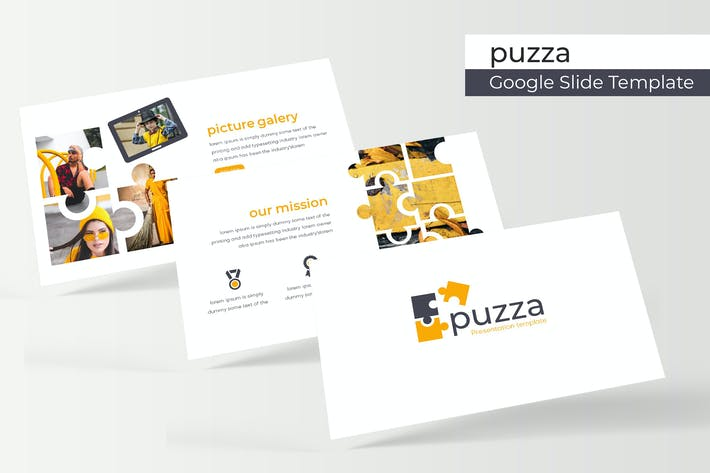 Thumbnail for Puzza - Google Slide Template