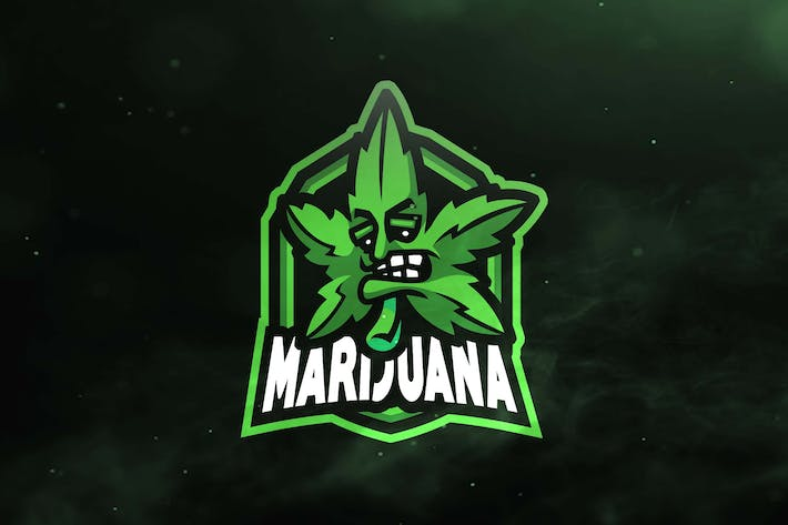 Thumbnail for Marijuana Sport and Esports Logos