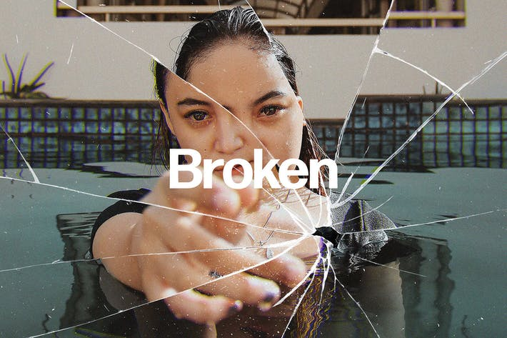 Thumbnail for Broken Glass Photo Effect