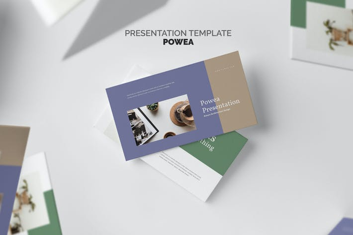 Thumbnail for Powea : Eco Style Business Keynote