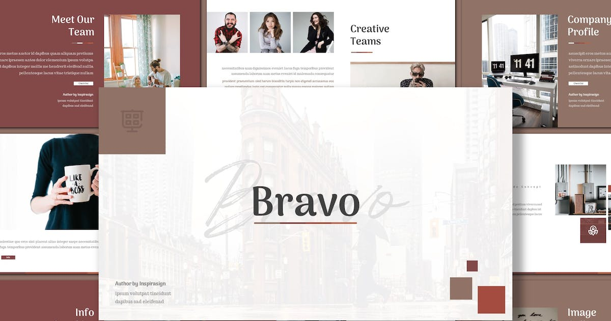 Download Bravo - Creative Powerpoint Template by inspirasign
