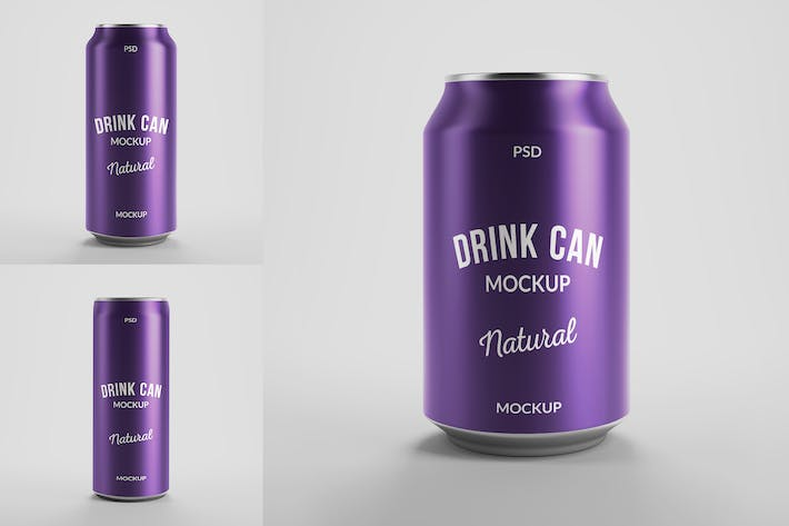 Thumbnail for Drink Can Mockups