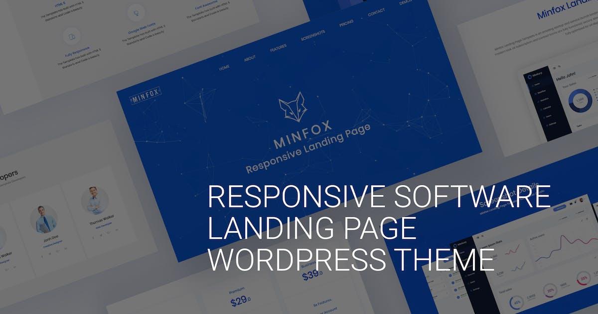 Download Onepage Business WordPress Theme - Minfox by Ninetheme