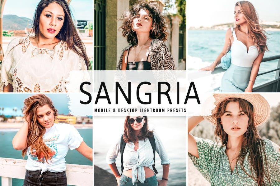 Sangria Mobile & Desktop Lightroom Presets