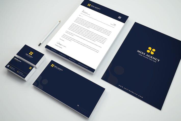 Thumbnail for Agency Branding Identity & Stationery Pack