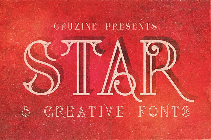 Thumbnail for Star Typeface