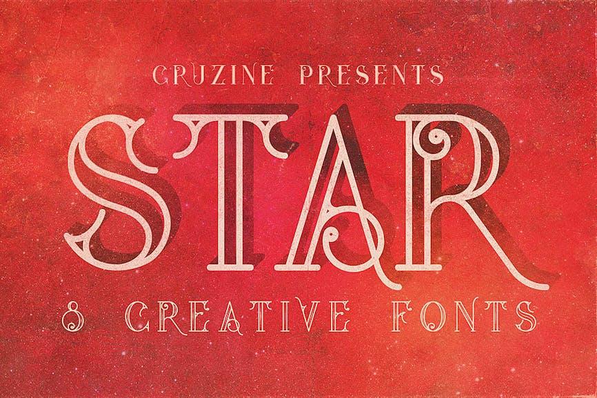 Star-Typeface