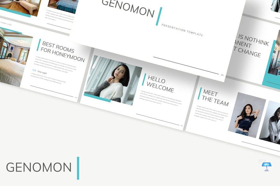 Genomon - Keynote Template