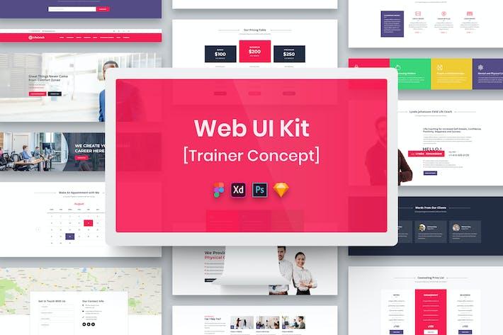 Thumbnail for Trainer Web UI Kit