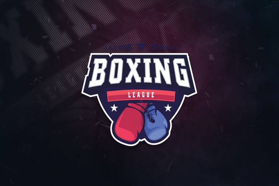 Download Boxing League Sports Logo by ovozdigital