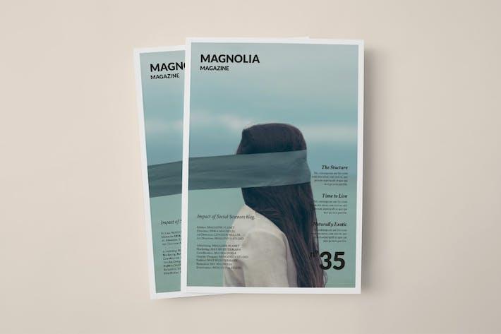 Cover Image For Magnolia Magazine