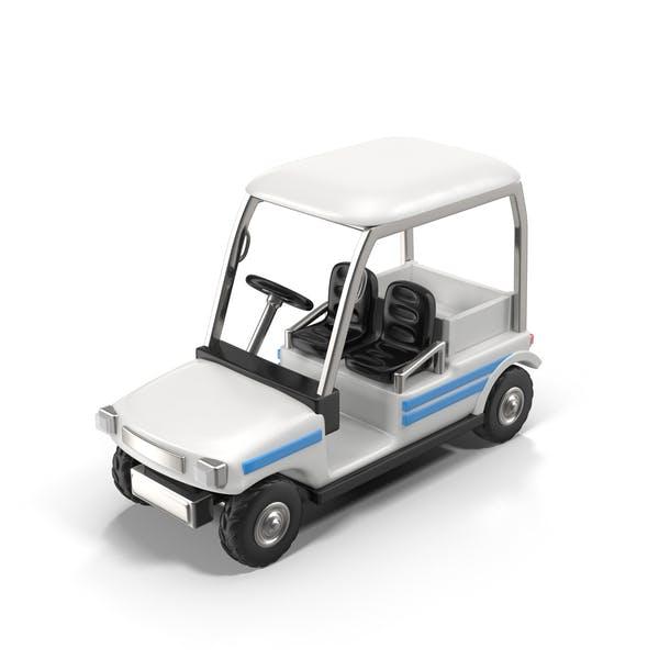 Cartoon Golf Car
