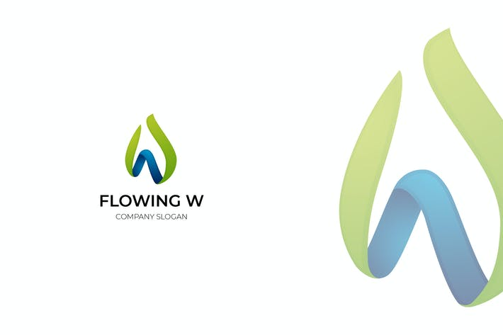 Thumbnail for Flowing W