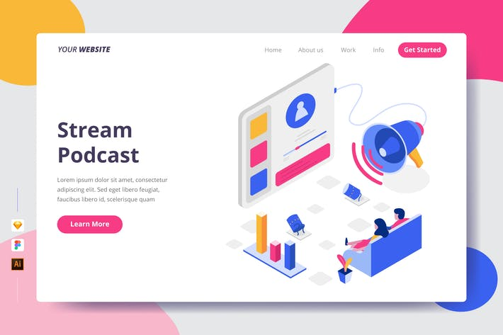 Thumbnail for Stream Podcast - Landing Page
