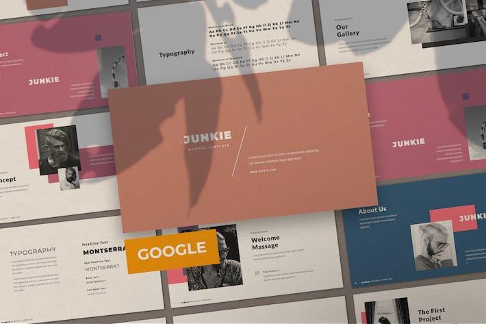 Junkie Business Brand Creative Google Slide