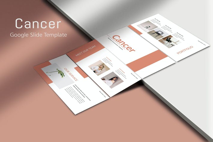 Thumbnail for CANCER - Minimals Google Slide Template