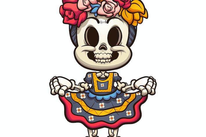 Mexican  Catrina