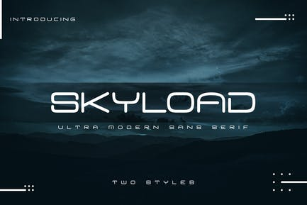 Skyload | Modern Sans