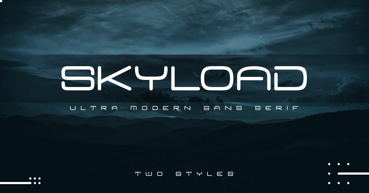 Download Skyload | Modern Sans by Muntab_Art