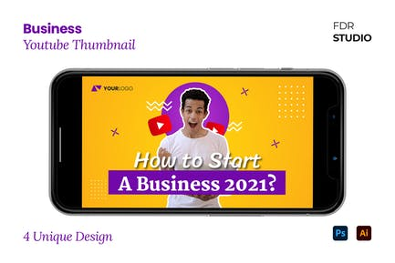 Business Youtube Thumbnail