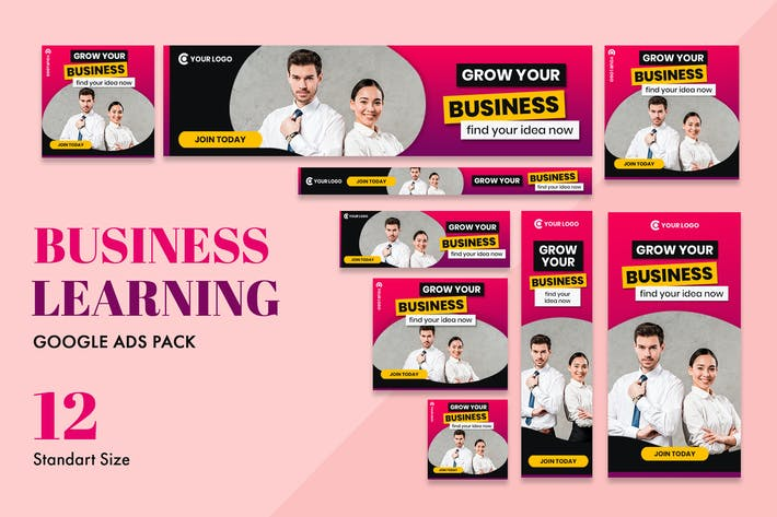 Thumbnail for Google Ads Web Banner Business Learning