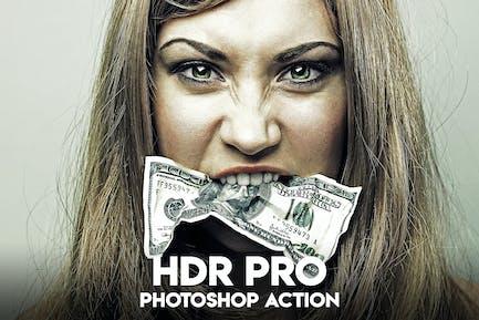 HDR PRO Photoshop Action