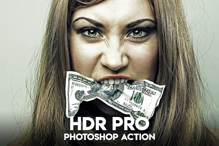 Thumbnail for HDR PRO Photoshop Action