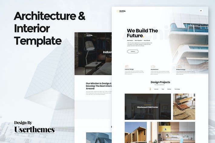 Thumbnail for Architecture & Interior Template